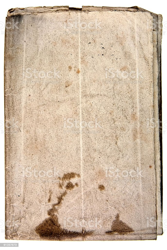 Ancient paper royalty-free stock photo