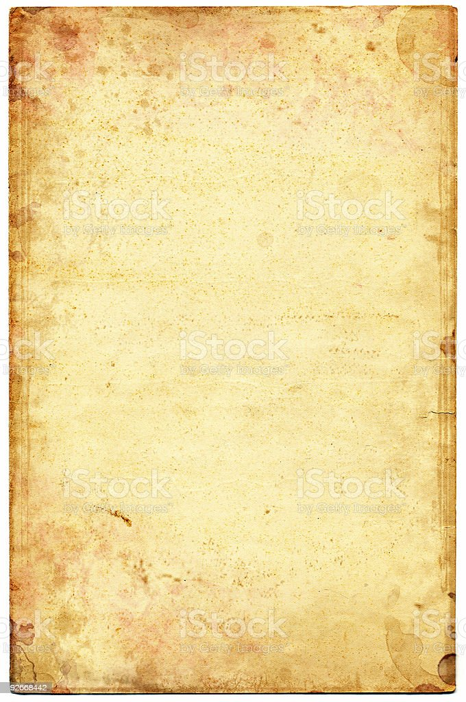 Ancient Paper stock photo