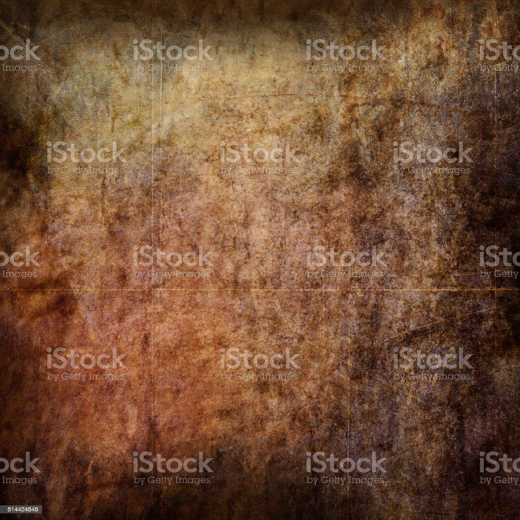 Ancient Parchment Amber Texture stock photo