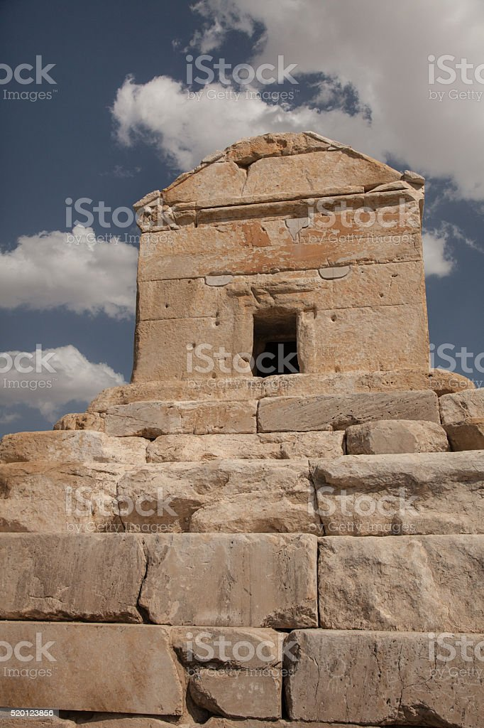 ancient Pasargadae stock photo