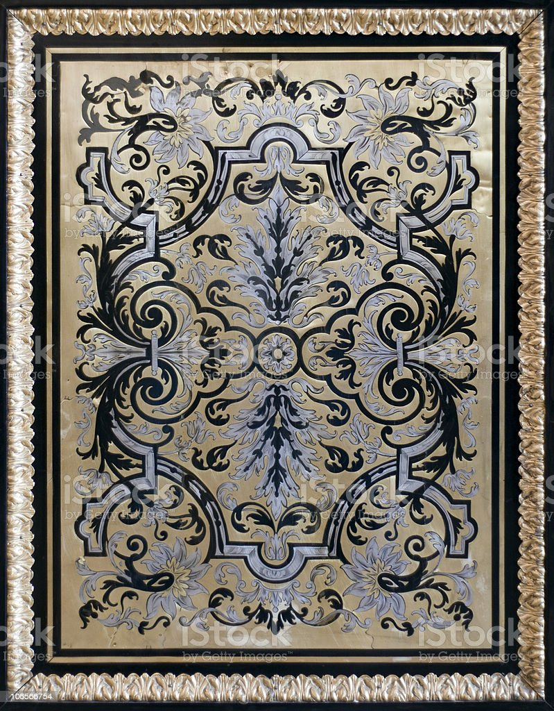 Ancient pattern royalty-free stock photo