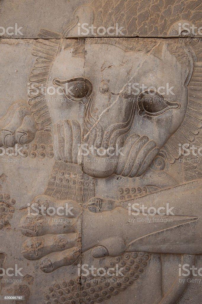 ancient Persepolis stock photo