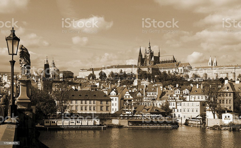 Ancient Prague royalty-free stock photo