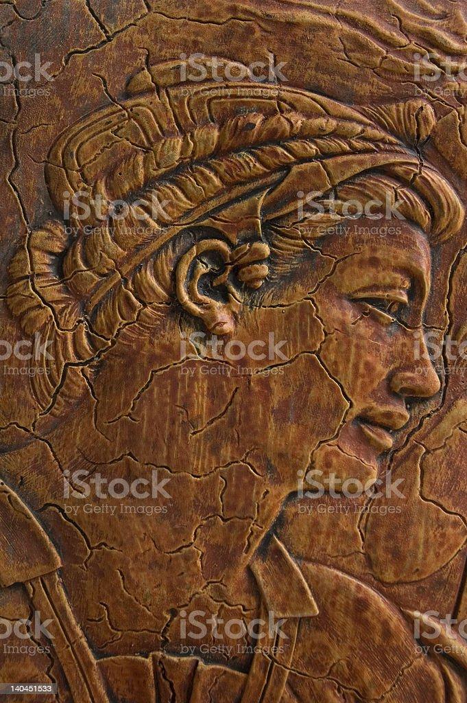 Ancient Prophetess royalty-free stock photo