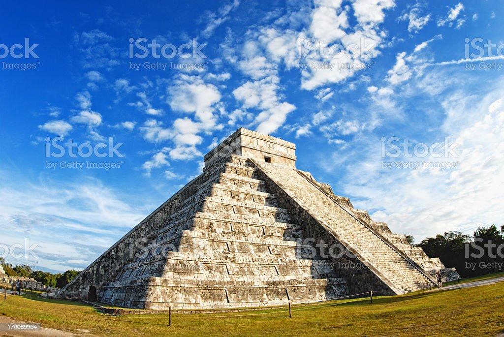 Ancient pyramid royalty-free stock photo
