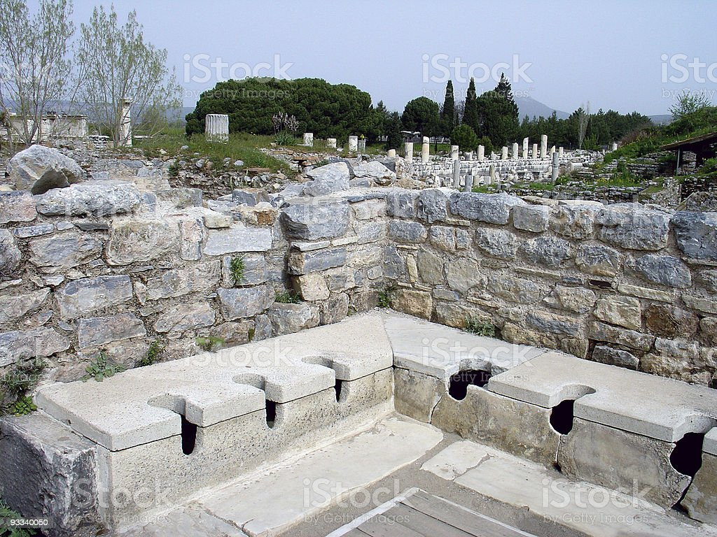 Ancient Relief Station royalty-free stock photo