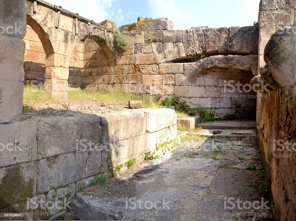Ancient Remains stock photo