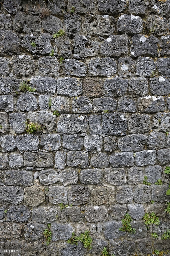 Ancient Roman brick wall : 11 royalty-free stock photo