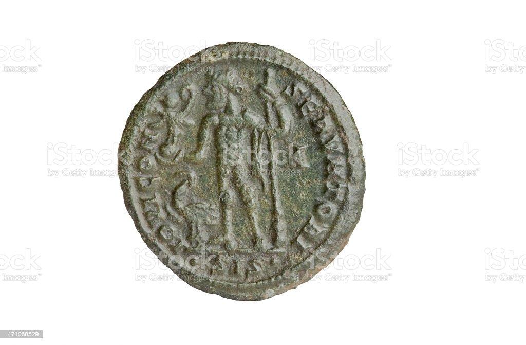 Ancient Roman Coin - Licinius royalty-free stock photo