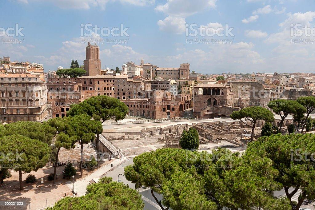 Antike römische Ruinen Lizenzfreies stock-foto