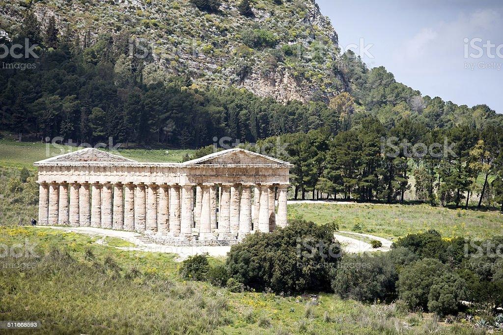 ancient Roman temple of Venus stock photo