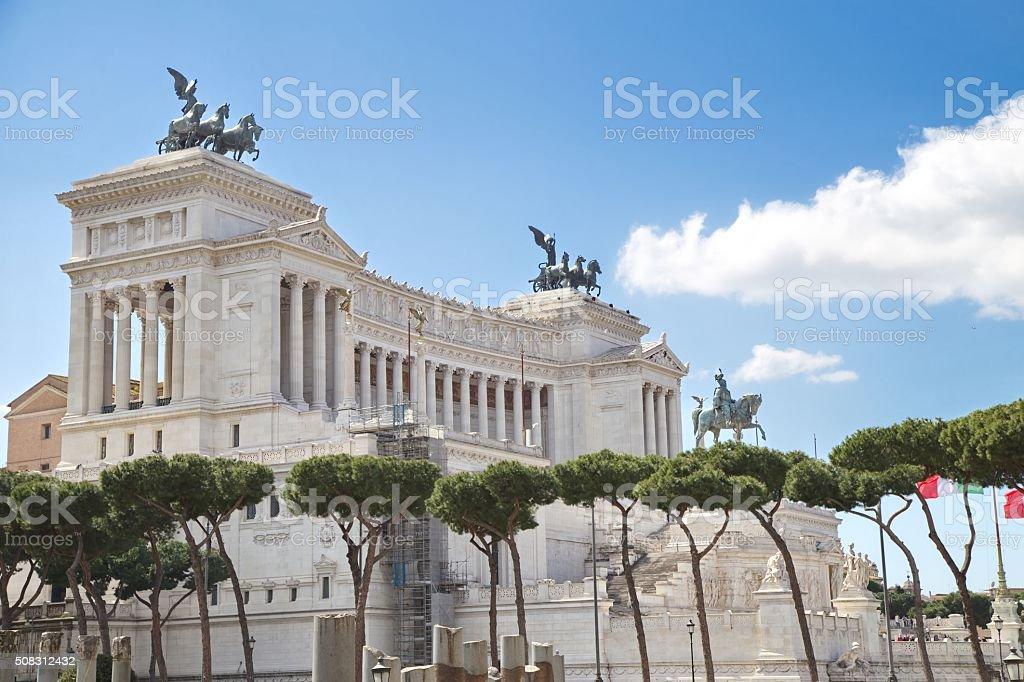 Ancient Rome Architecture stock photo