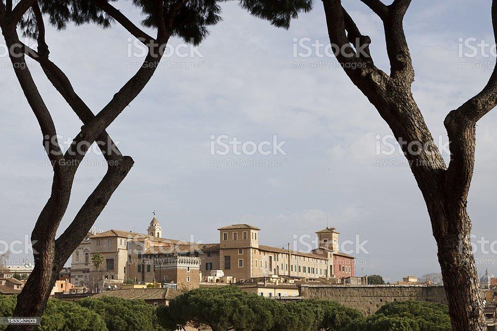 Ancient Rome, Italy stock photo