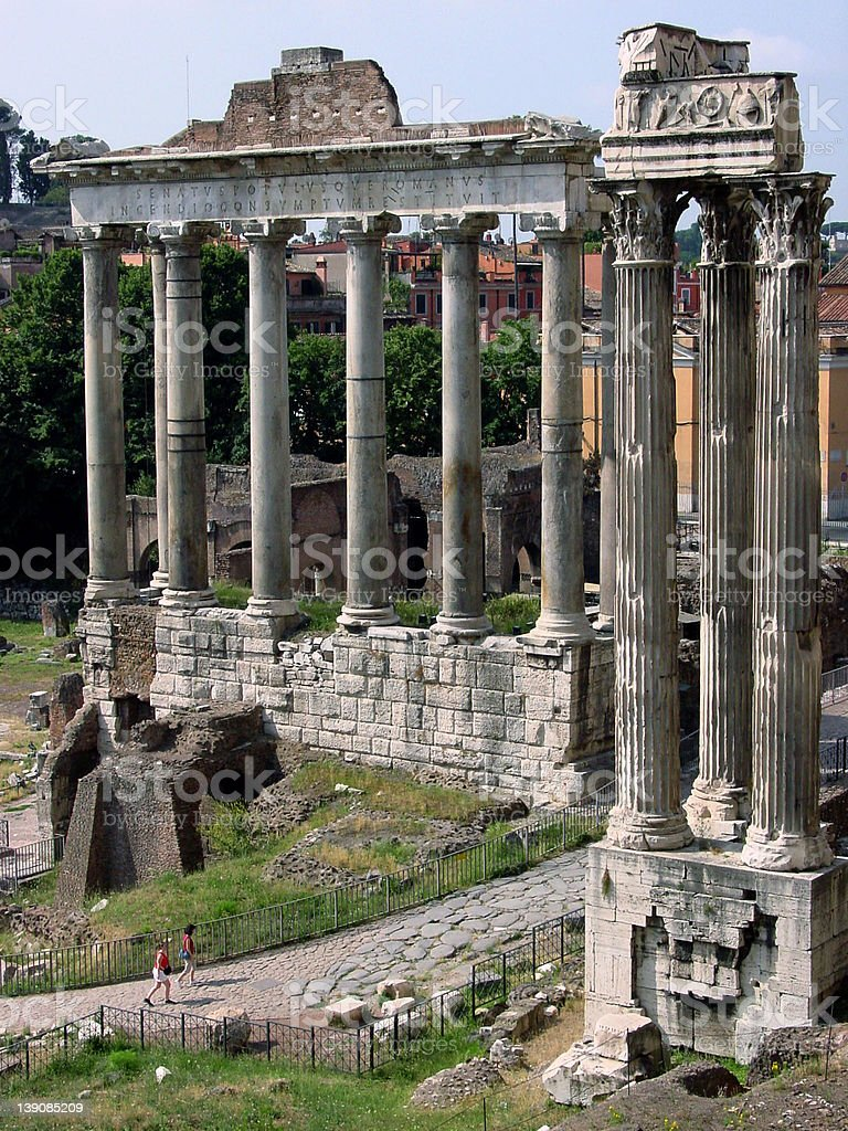 Ancient Rome royalty-free stock photo