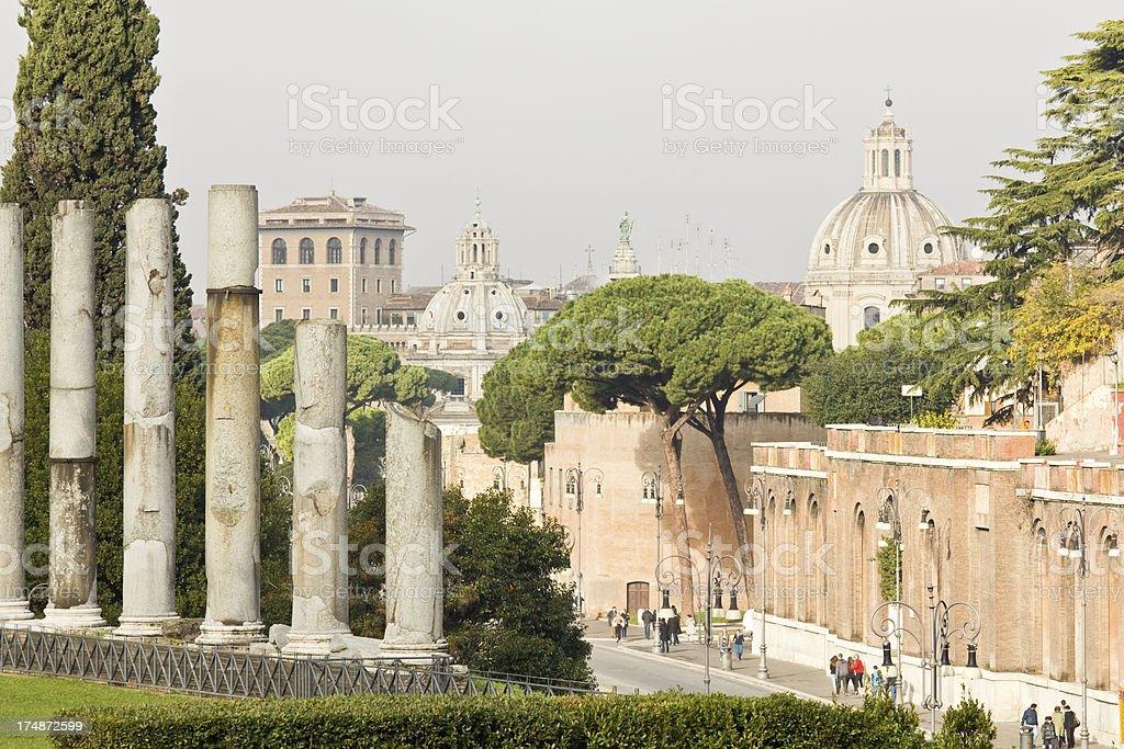 Ancient Rome royalty-free stock photo