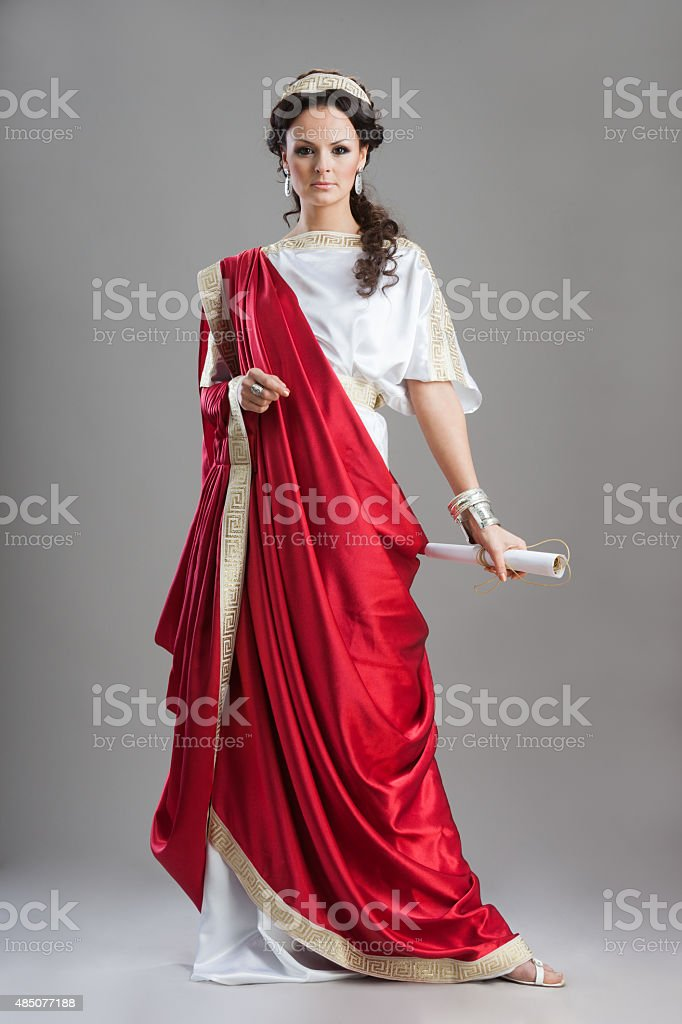 Ancient Rome women - Goddess stock photo