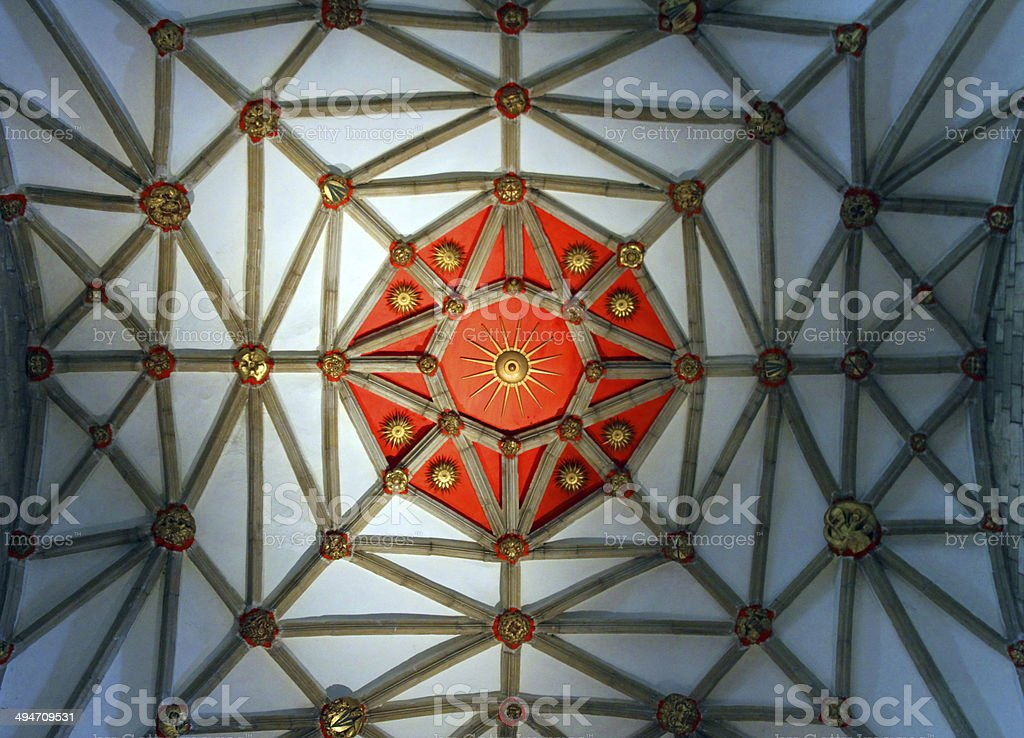 Ancient Roof Pattern royalty-free stock photo