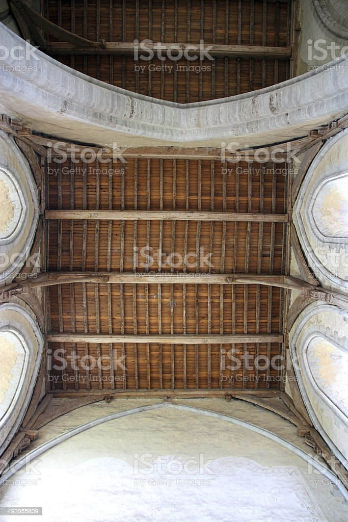 Ancient Roof royalty-free stock photo