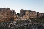 Ancient ruins of a wall
