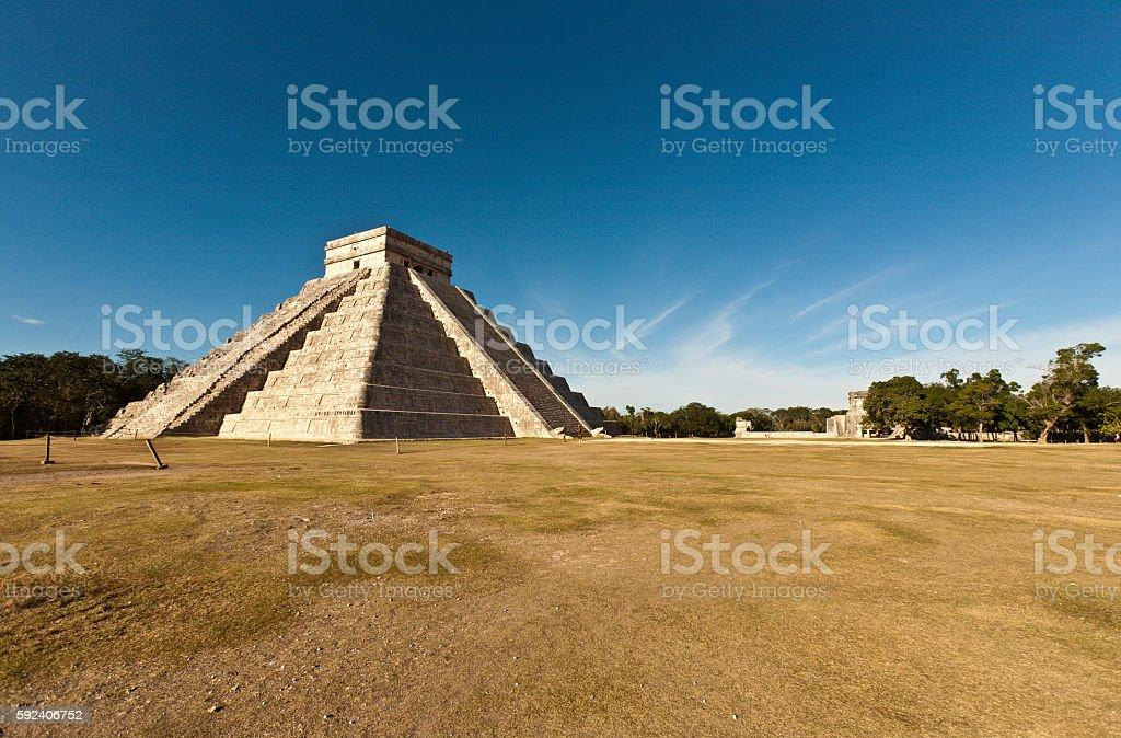 Ancient ruins of Maya, Mexico, Chichen Itza stock photo