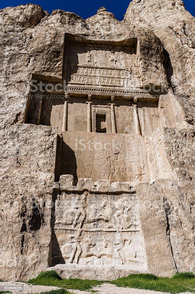 Ancient ruins of Persepolis, Iran stock photo