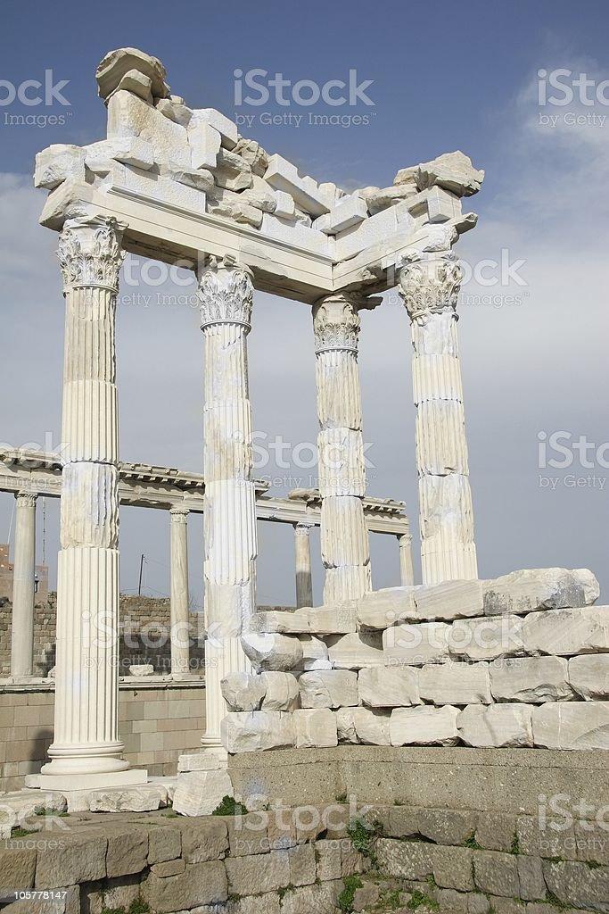Ancient Ruins stock photo