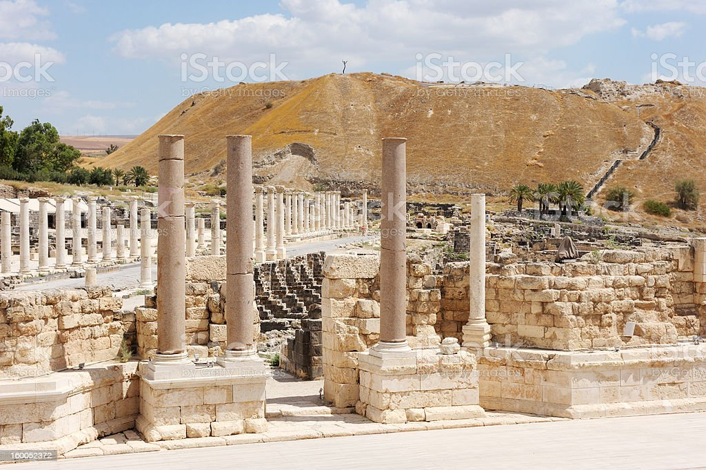 Ancient ruins royalty-free stock photo
