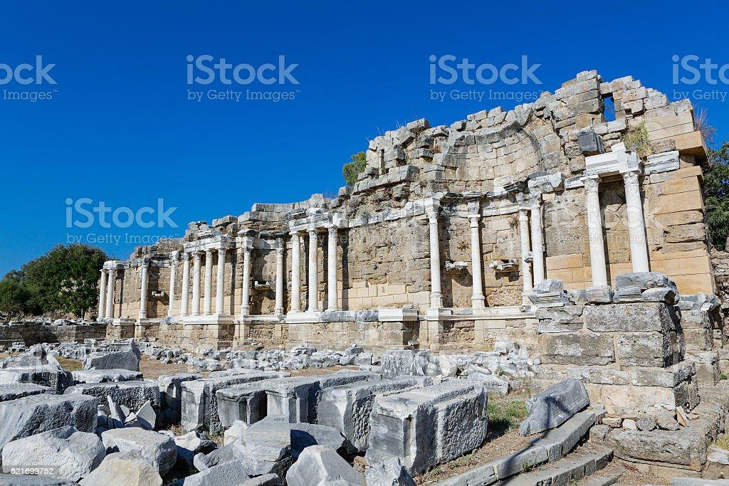 Ancient ruins. stock photo