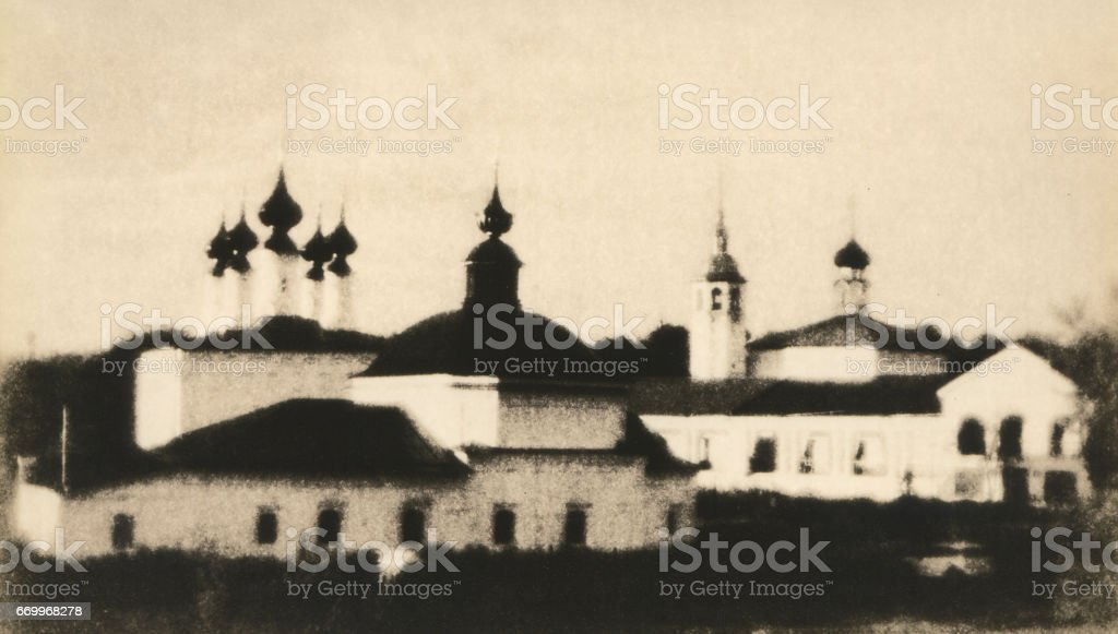 Ancient Russian city of Suzdal. stock photo
