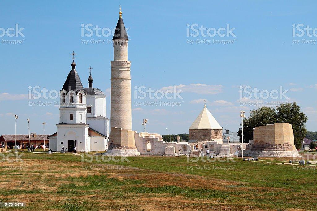 Ancient settlement. Bulgar, Russia stock photo