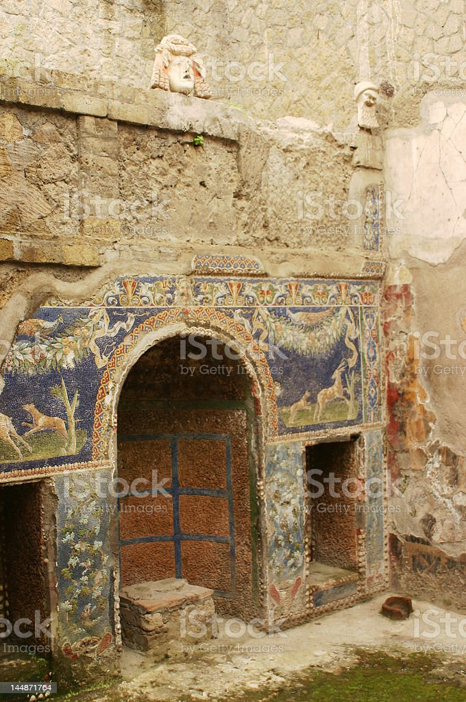 Ancient spot royalty-free stock photo