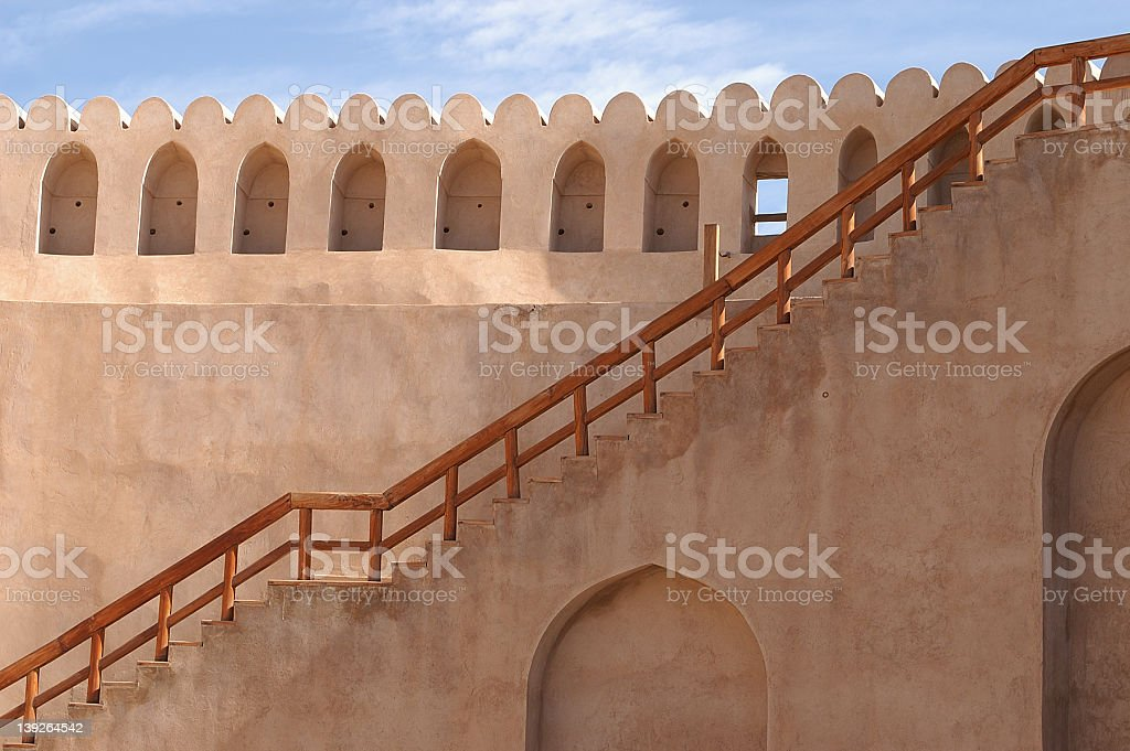 ancient staircase royalty-free stock photo