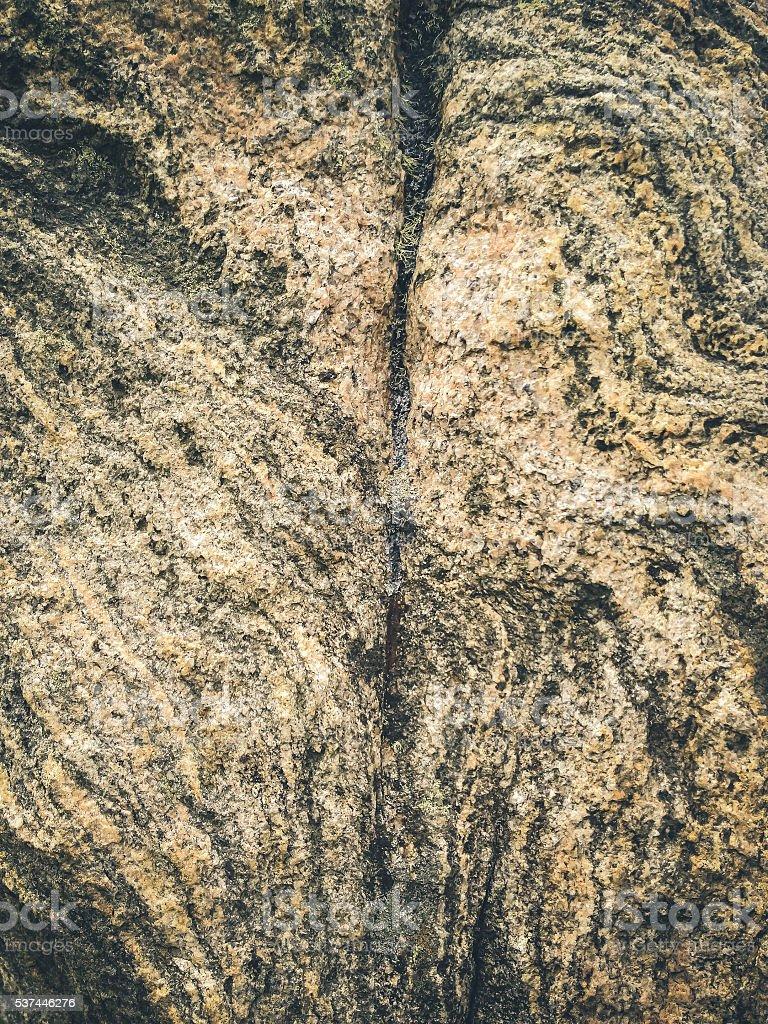 Ancient Standing Stone of Callanish, Close-Up, Scotland stock photo
