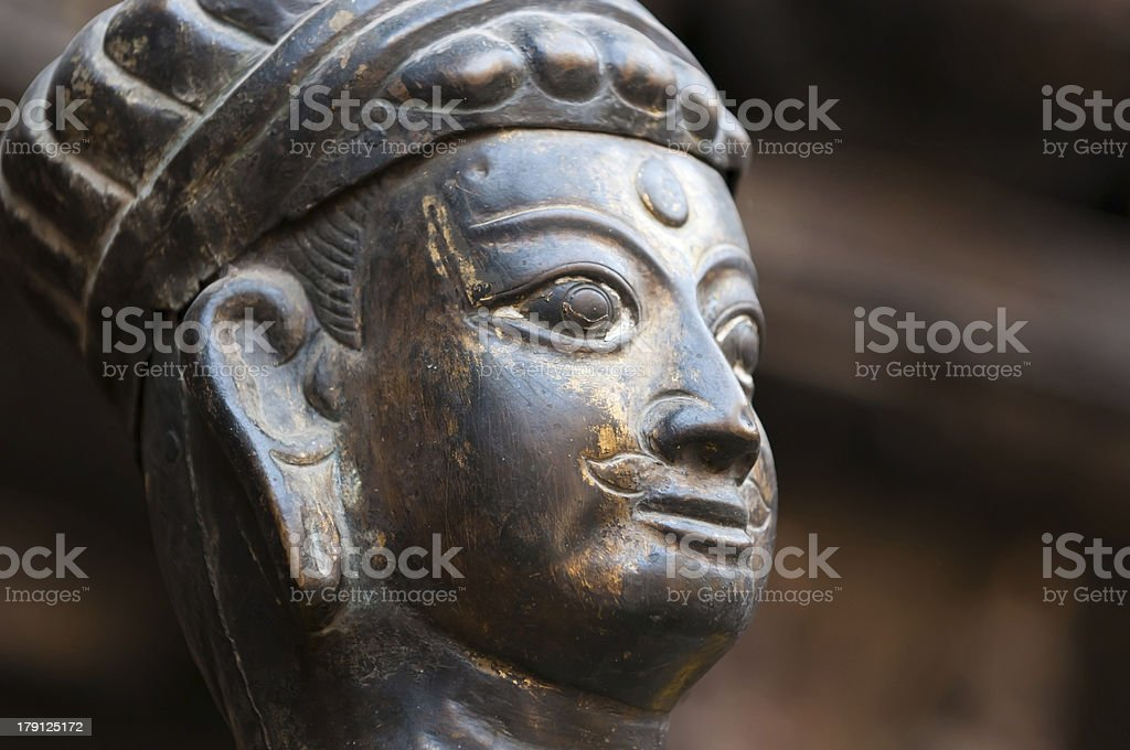 Ancient statue royalty-free stock photo
