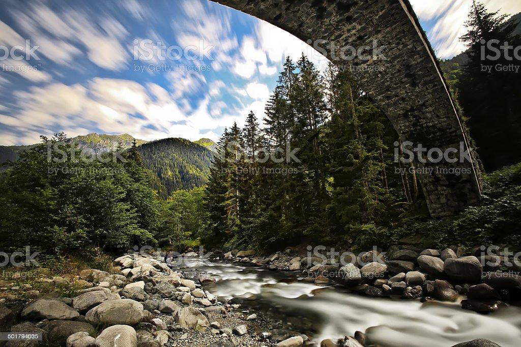 Ancient Stone Bridge royalty-free stock photo