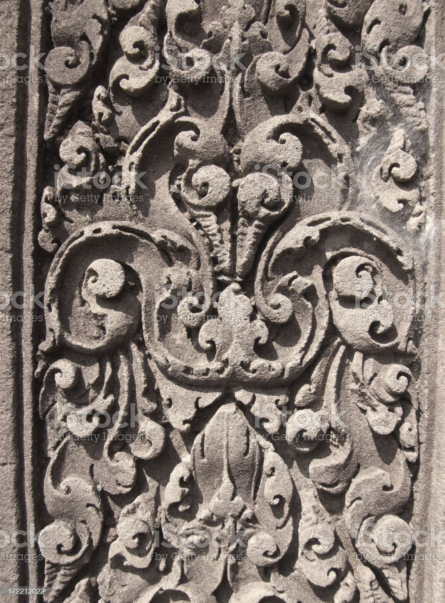 Ancient Stone Carving royalty-free stock photo