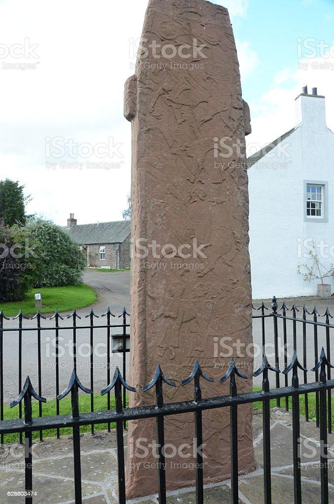 Ancient Stone stock photo