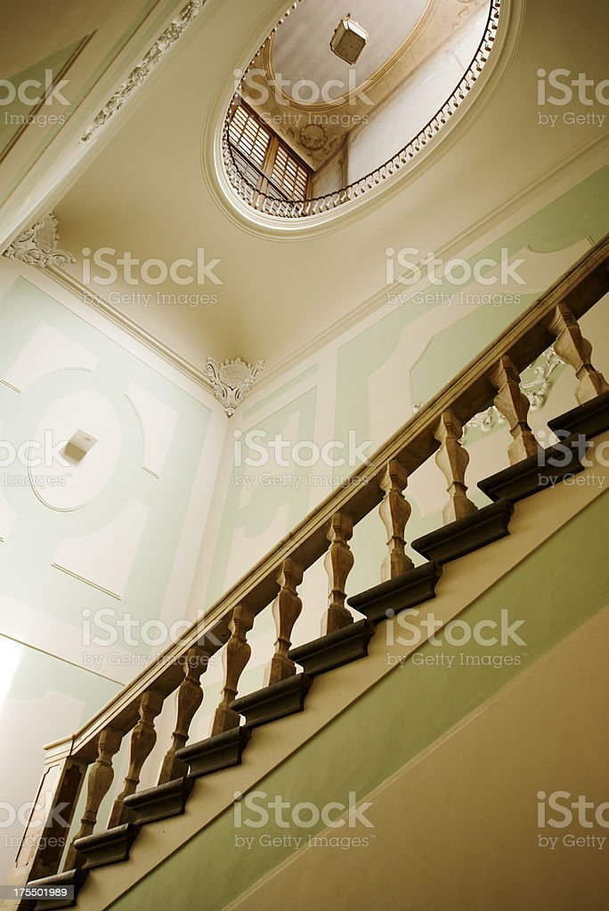 Ancient Stone Staircase royalty-free stock photo