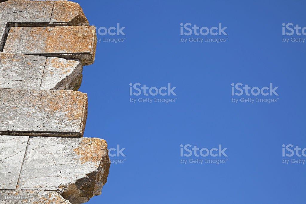 Ancient Stones in  Aizanoi stock photo