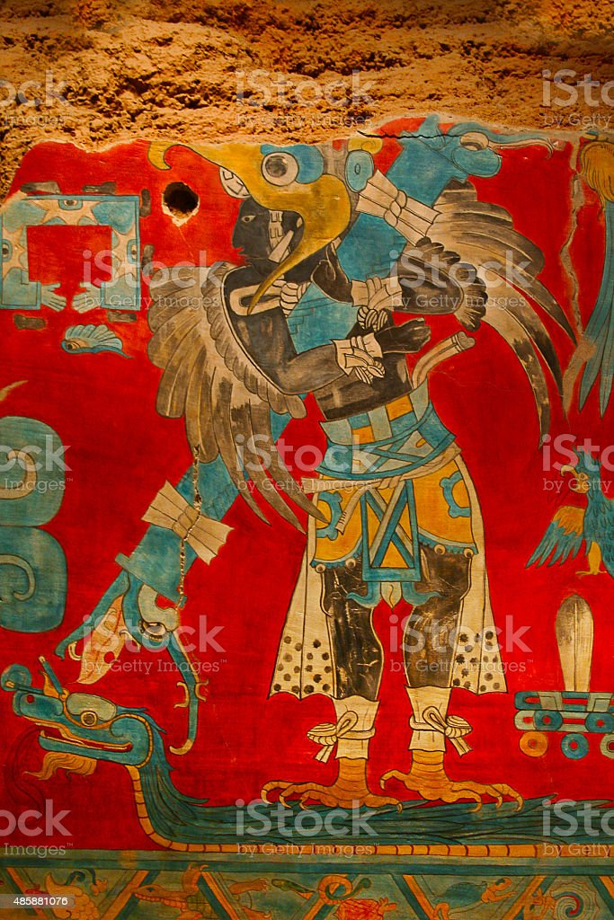 Ancient Storytelling Mexican Image stock photo