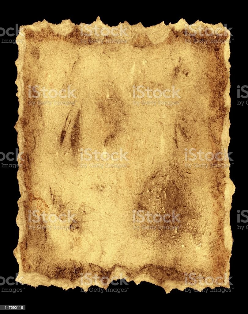 ancient style aged paper royalty-free stock photo