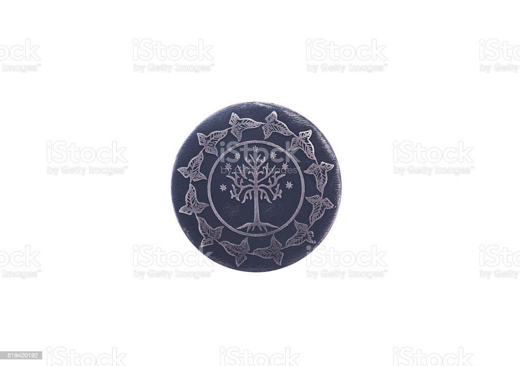 ancient symbol of eternity stock photo