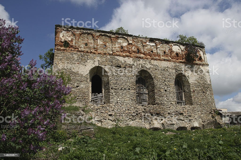 Ancient Synagogue royalty-free stock photo