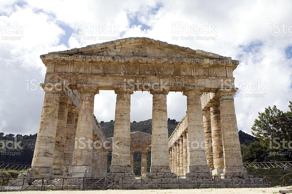 ancient temple of Venus stock photo