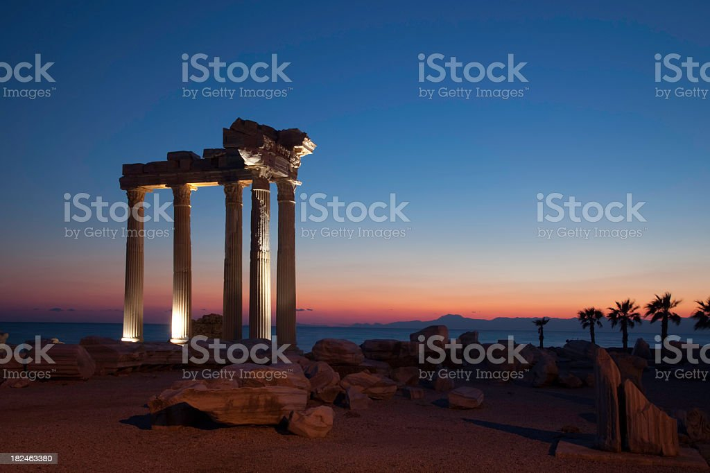 ancient temple royalty-free stock photo