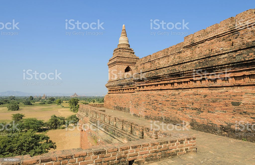 Ancient temples, Myanmar royalty-free stock photo