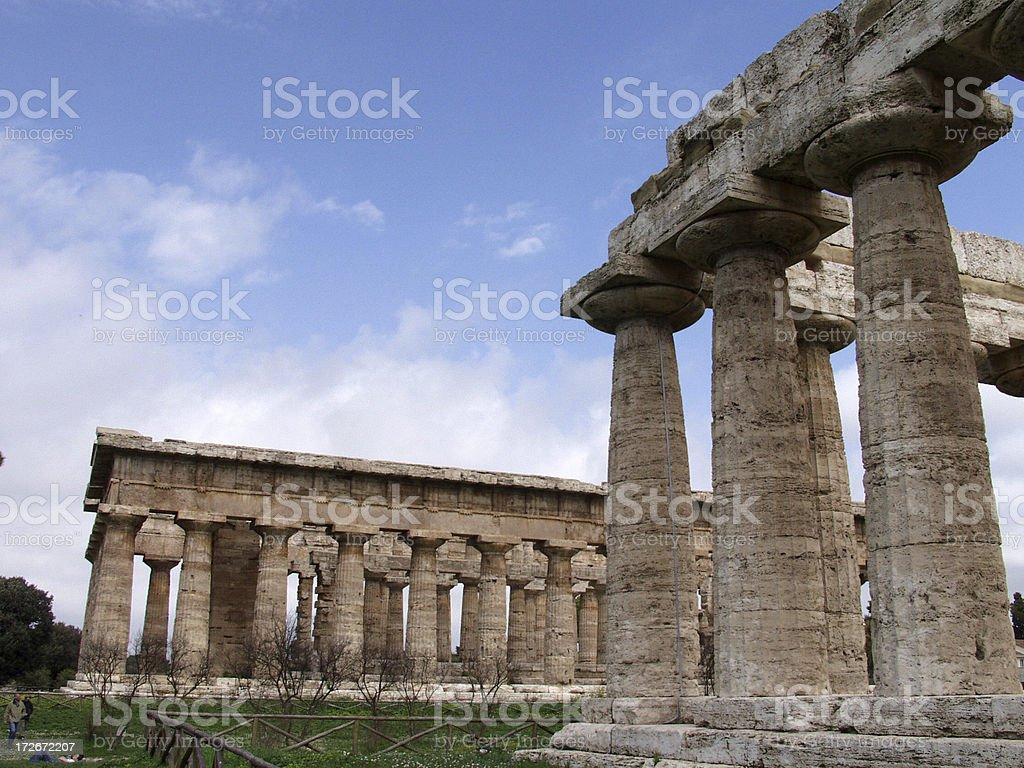 Ancient Temples. stock photo