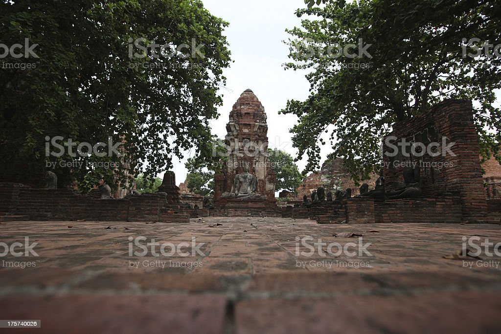 ancient temples royalty-free stock photo