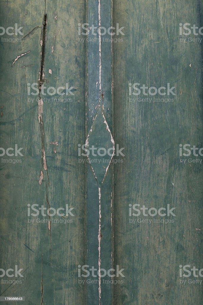 Ancient Thai door royalty-free stock photo