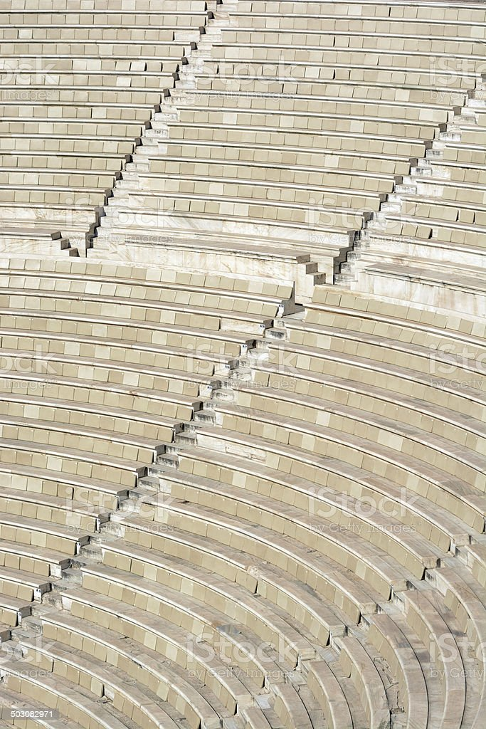 Ancient Theater Texture stock photo